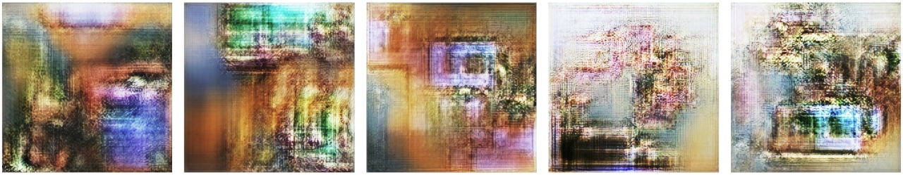 Becoming: Digital AI Artworks, Generated by a GAN Trained on the Greatests Art Movements, Each with a Unique NFT