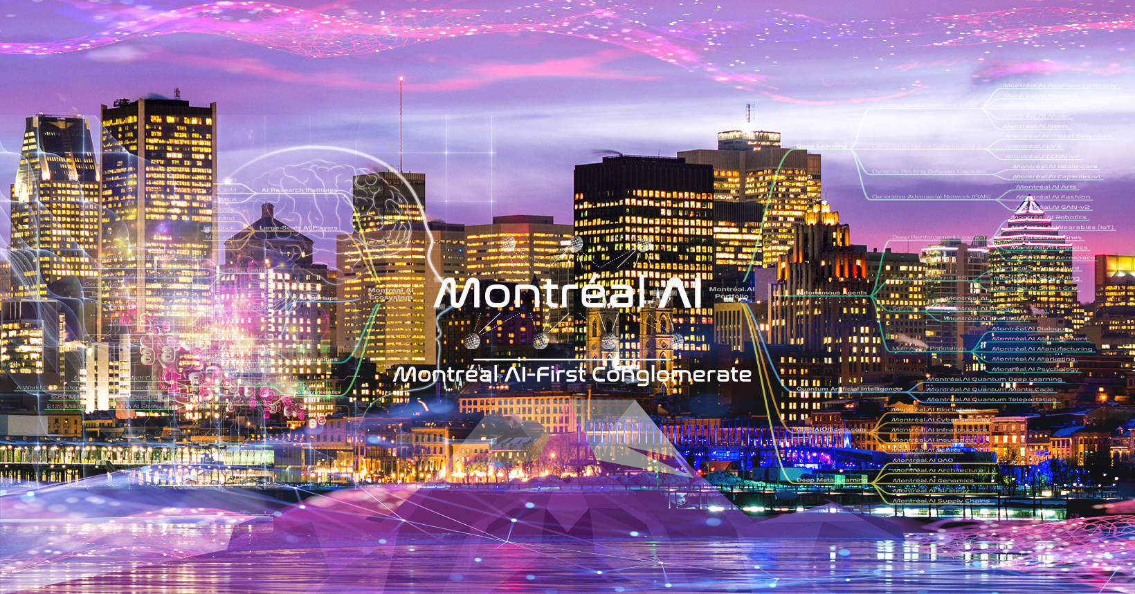 Montréal AI-First Conglomerate : The Keystone of the Artificial Intelligence Industry